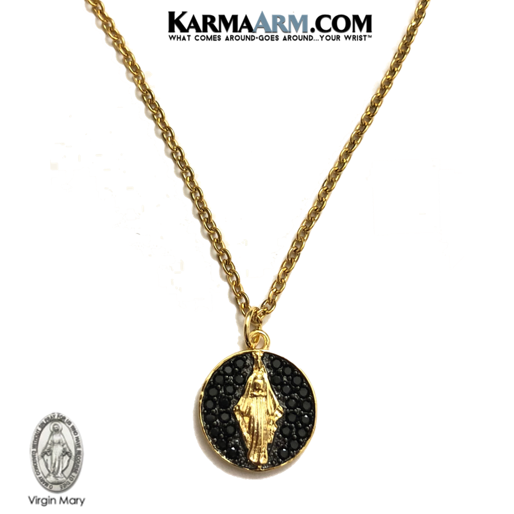 Patron Saint of Relationships Miracle Medal Jewelry Helen Necklace KarmaArm St