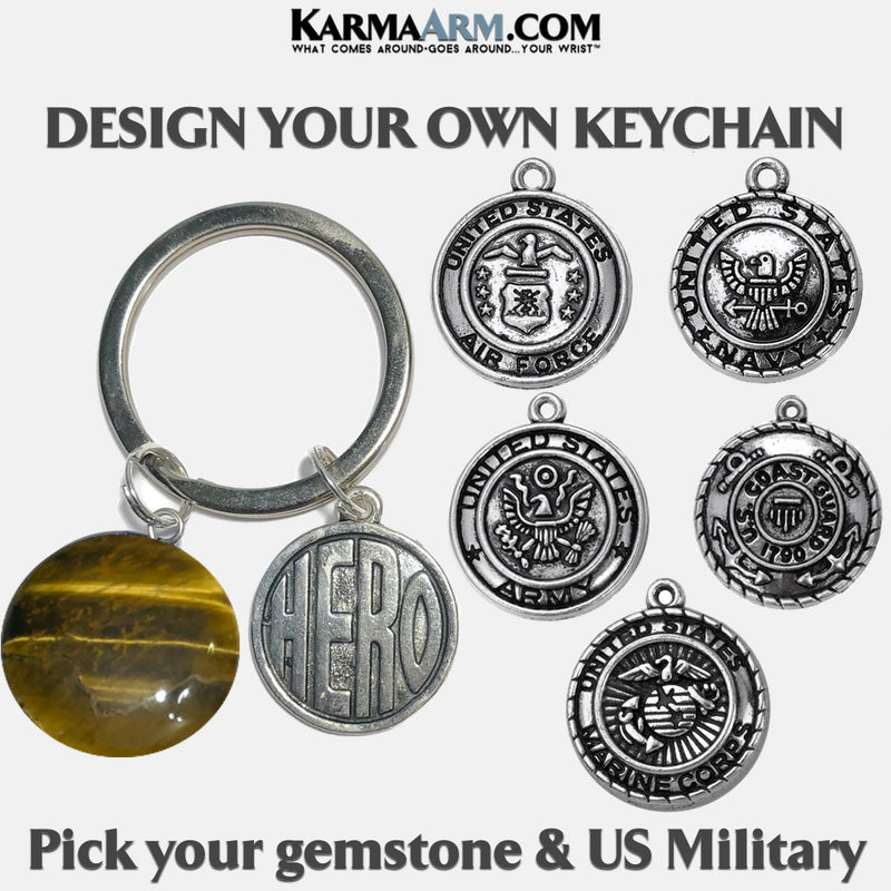 United States Military Meditation Mindfulness Keychain Gifts Key Rings. copy 4