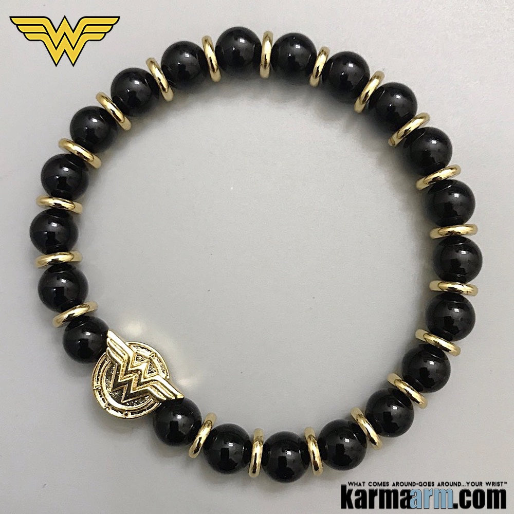 Wonder Woman Bracelets - CosPlay Comic-Con Jewelry.