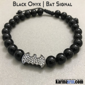 Batman Bracelets. CosPlay Comic-Con Fanboy Fangirl Jewelry.