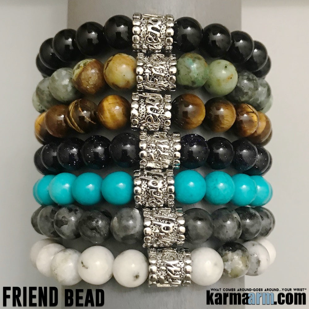 Yoga Bracelets. Friend Friendship Bracelets. Gifts Love Stretch Mala. Mens Beaded Chakra Jewelry.