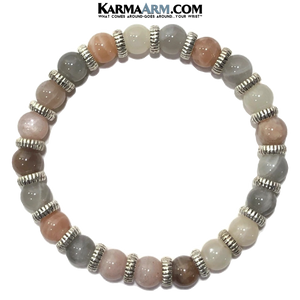 Yoga Bracelets. Meditation Jewelry. Vista Sunstone.