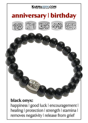 Yoga Meditation bracelets. mens bead wristband jewelry.18th Birthday Anniversary.