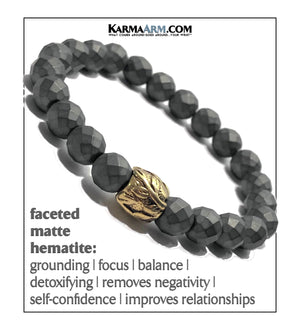 Yoga Meditation bracelets. self-care wellness mens bead wristband jewelry.