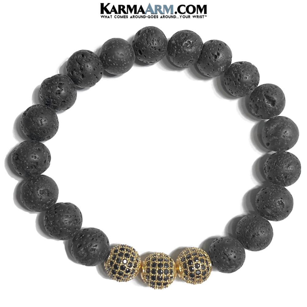mens wristband. Love Jewelry. Meditation Zen Beaded diffuser lava cz diamond.