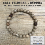 Yoga Bracelets. OM Mantra Buddha. Stretch Beaded Chakra Jewelry. Energy Healing Meditation.