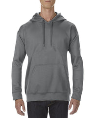99500 Gildan Adult Tech Hooded Sweat - Go-To Workwear Ltd