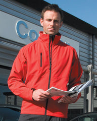 R128M Result 2 Layer Base Softshell Jacket - Go-To Workwear Ltd