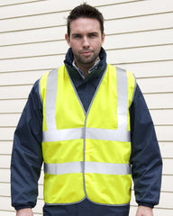 R201X Result Safe-Guard Motorist Hi Vis Vest - Go-To Workwear Ltd