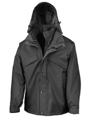 R68X Result 3 in 1 Zip and Clip Jacket - Go-To Workwear Ltd