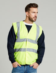 UCC054 4-Band Safety Waistcoat - Go-To Workwear Ltd