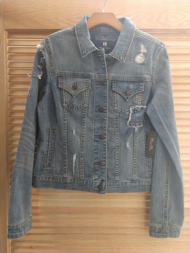 Miss Me Denim Coat
