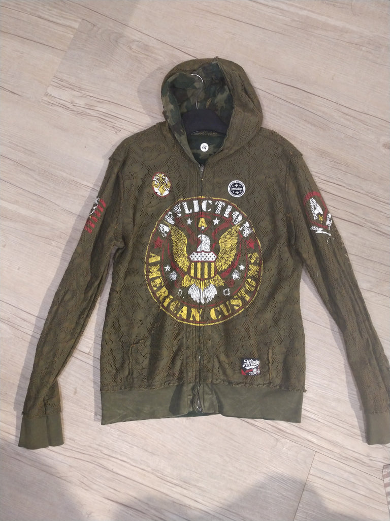 Affliction Zip Up