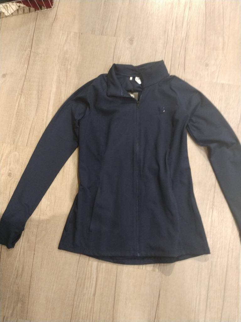 Women's Under Armour Navy Fitted Long Sleeve Zip