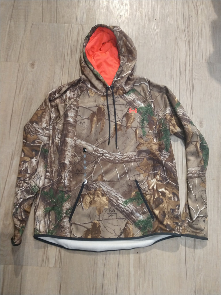 Womens Under Armour Camo Realtree Hoodie