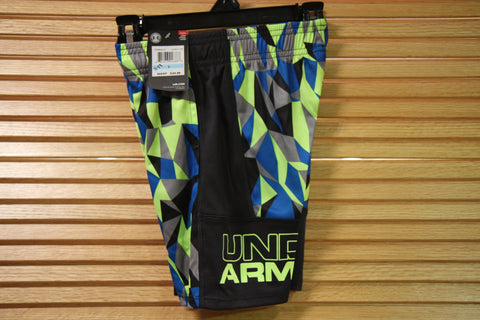 Under Armour Youth Boy Quirky Lime Shorts