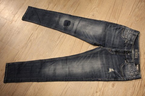 Rock & Roll Denim Boyfriend Skinny