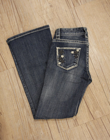 Rock and Roll- Jeans- Girls- Boot Cut