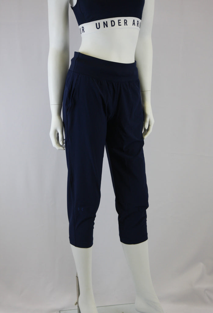 Under Armour- Crop- Women's- Navy Blue