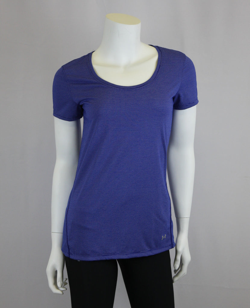 Under Armour- Short Sleeve- Women's- Dark Blue