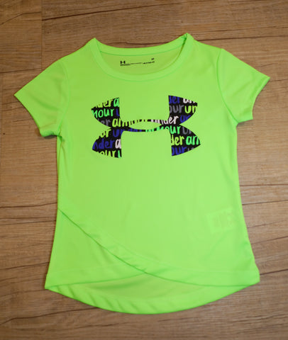Under Armour- Shirt- Girls- Quirky Lime