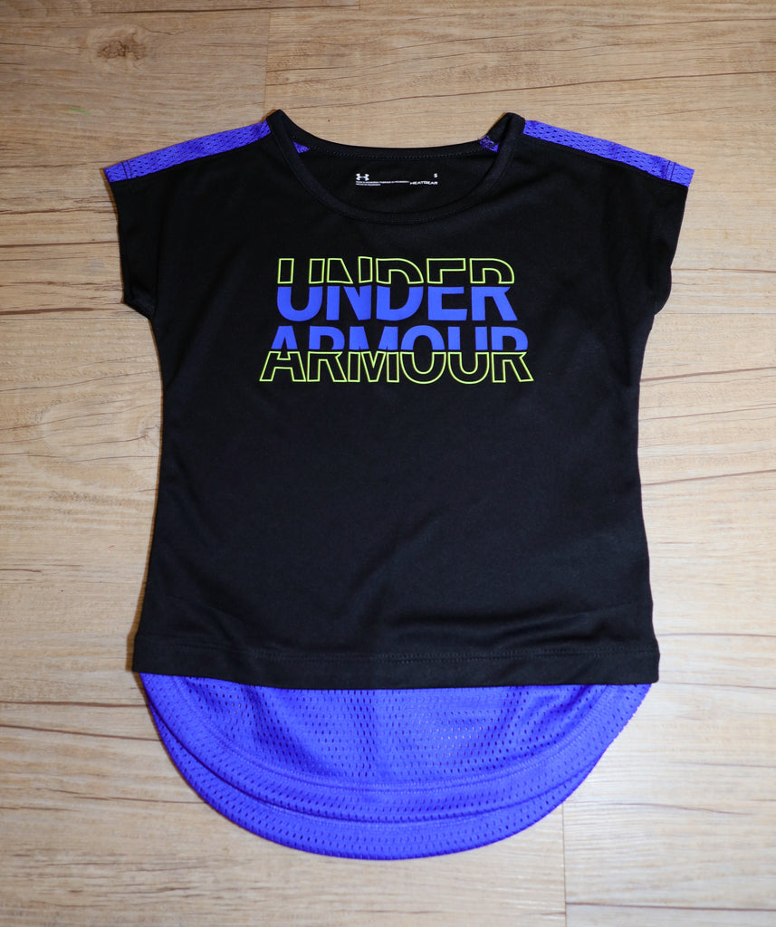 Under Armour- Shirt- Girls- Black