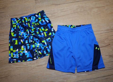 Under Armour- Shorts- Boys- Reversible