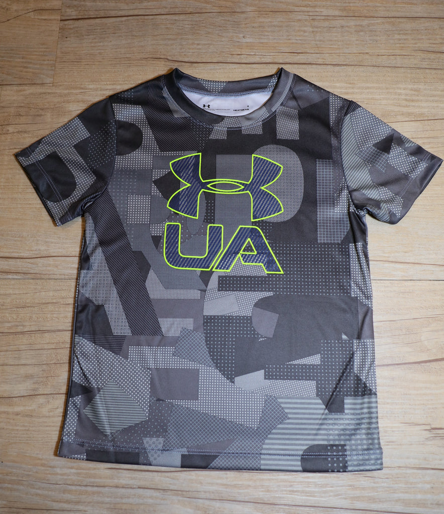 Under Armour- Shirt- Boys- Overcast Grey