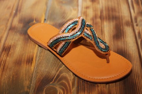 Not Rated Rhintstone Sandal