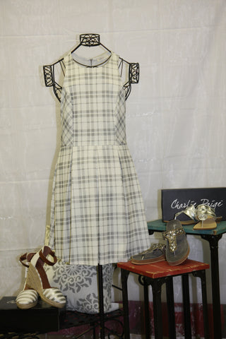 Millibon Plaid Dress