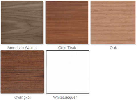 BT Table Wood Color Options