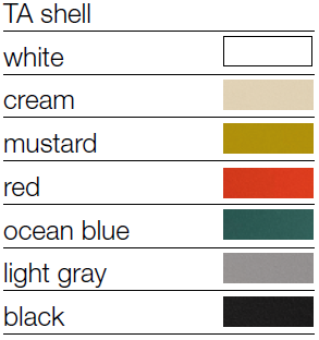 Novomodern TA Collection Shell Colors