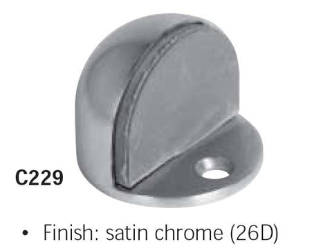 Floor Stop High/Low Satin Chrome 626
