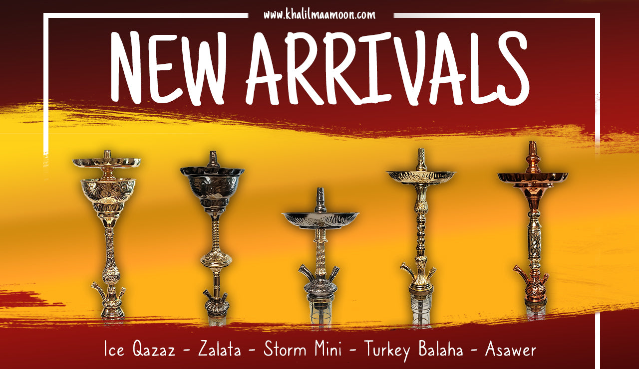 Khalil Mamoon Got Some New Egyptian Hookahs For You!