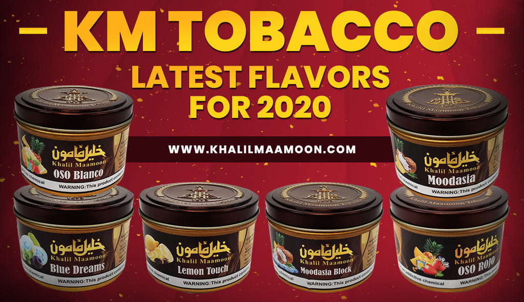 Khalil Maamoon Tobacco Latest Flavors For 2020