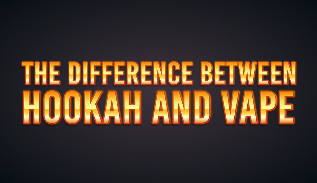 The Difference between Hookah and Vape