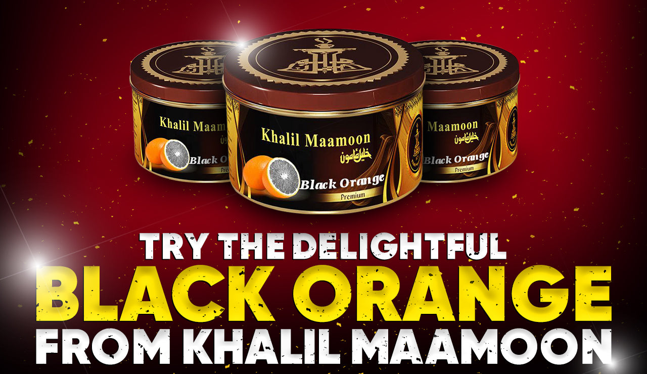 Try the Delightful Black Orange from Khalil Maamoon
