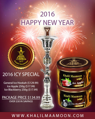 2016 Icy Special - General Ice Hookah, Ice Apple 250g, Ice Blackberry 250g