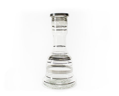Classic Silver Base For Khalil Mamoon Hookahs