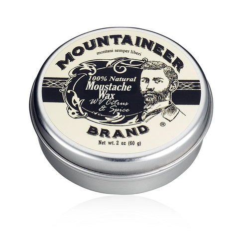 Mountaineer Brand Moustache Wax - Citrus & Spice