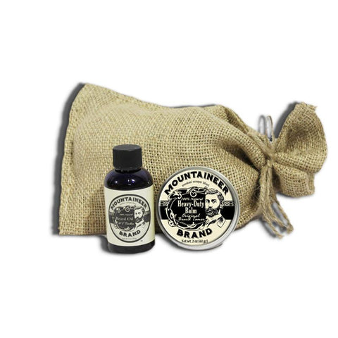 Heavy Duty Beard Balm & WV Timber Beard Oil Combo