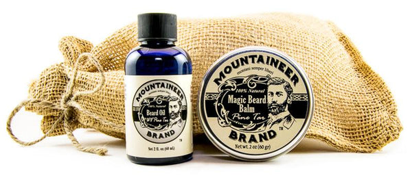 Magic Beard Balm/Beard Oil Combo: Pine Tar