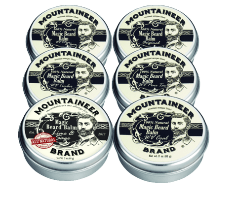 Magic Beard Balm (Variety 6 Pack)