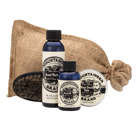Complete Beard Care Kit - Pine Tar