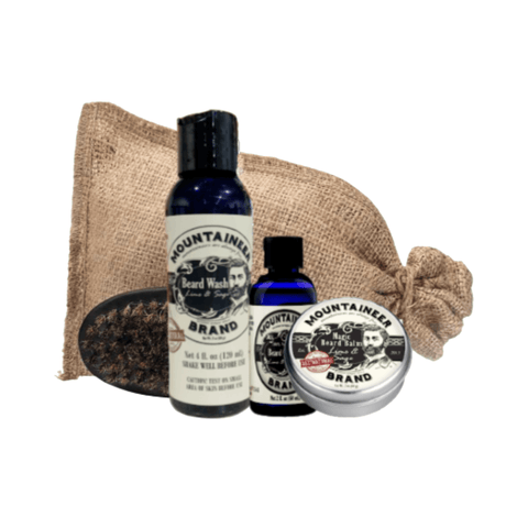 Complete Beard Care Kit - Lime & Sage