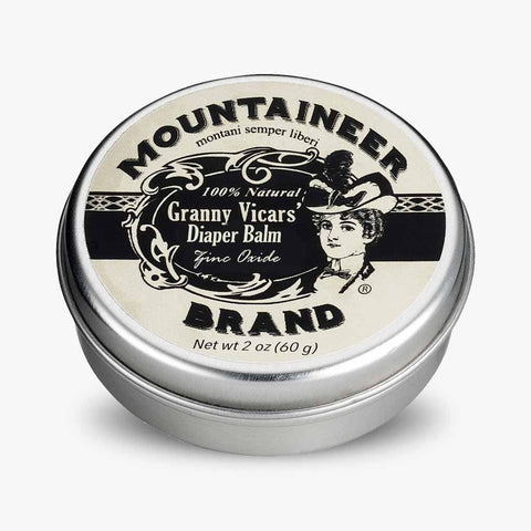 Product Image, Mountaineer Brand Granny Vicars' Diaper Balm, Zinc Oxide