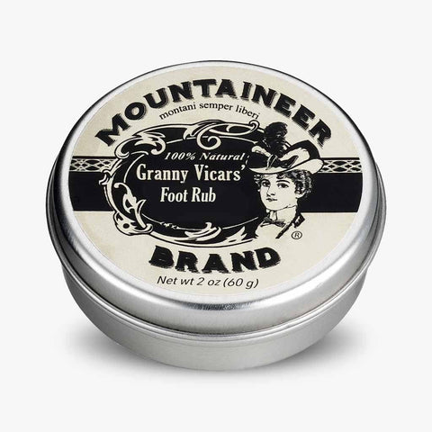 Product Image, Mountaineer Brand Granny Vicars' Foot Rub