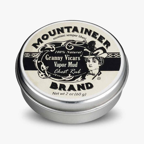 Product Image, Mountaineer Brand Granny Vicars' Vapor Mud, Chest Rub