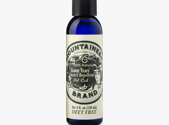Product Image, Mountaineer Brand Granny Vicars' Insect Repellent, Oil Rub