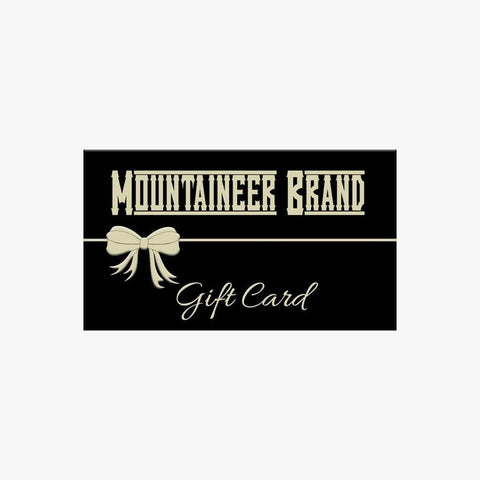 Product Image, Mountaineer Brand Gift Card